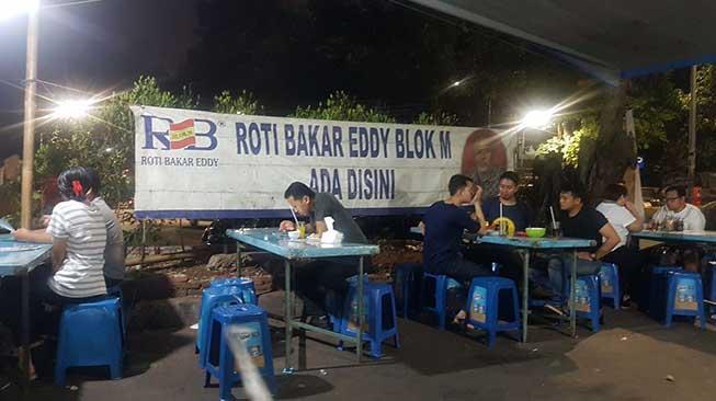 Roti Bakar Edy Blok M