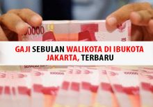 Gaji Sebulan Walikota di Jakarta